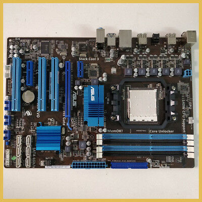 ASUS M4A87TD/USB3 SOCKET AM3 Motherboard + Phenom II X4 965 3 4GHz