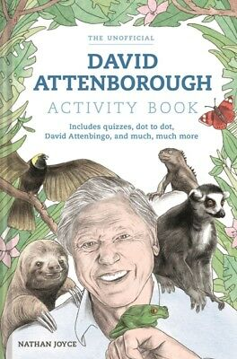 A Celebration of David Attenborough: The Activity Book  9781911622123