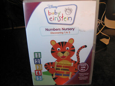 Baby Einstein Numbers Nursery Disney Dvd