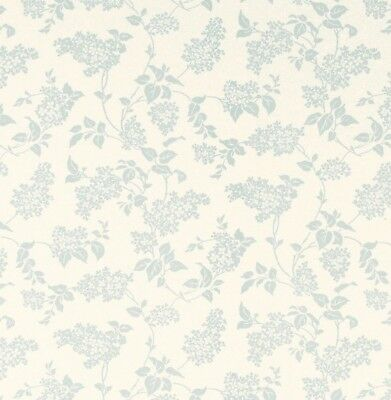 FREE DELIVERY * Laura Ashley Lilac Duck Egg Wallpaper