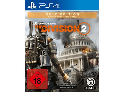 Tom Clancy´s The Division 2 Gold Edition - PS4//FSK18//jetzt Lieferbar