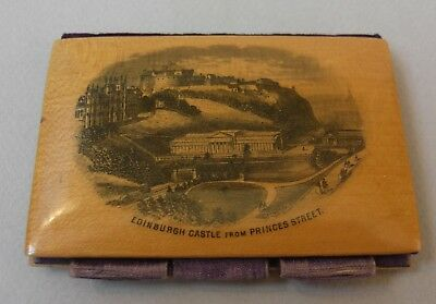 MAUCHLINE WARE - NEEDLE CASE - Good condition