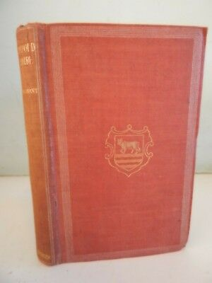 Oxfordshire by FG Brabant Illustrated with Map of Oxfordshire 1906 Antique Book