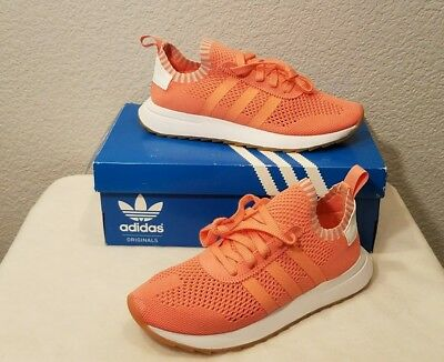 official photos 766be 93af3 New Adidas Originals Flashback Primeknit Shoes (BY9104) Womens Size 7.5