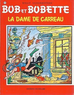 BD  Bob et Bobette- La dame de carreau  - N°101 - RE. -1996 - BE -Vandersteen