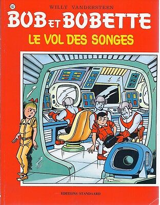 BD  Bob et Bobette- Le vol des songes  - N°102 - RE. -1998 - BE -Vandersteen