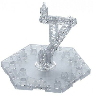 BANDAI Gundam ACTION BASE 5 Clear 1/144 Display Stand Scale
