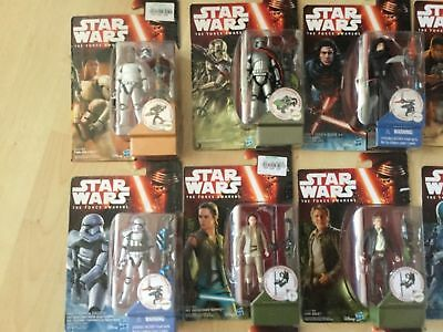 Hasbro Star Wars Episode VII The force Awakens complete set - Choose your figure