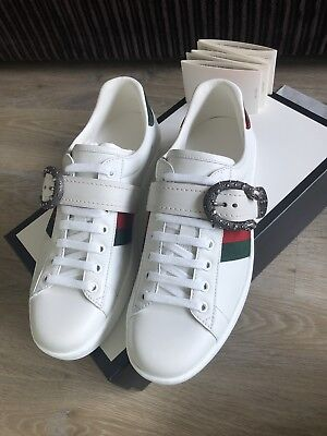 255da905bf9 NEW AUTHENTIC GUCCI Ace Trainers Mens Size 8 - Fits Size 9 - £351.00 ...