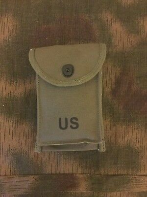 US ARMY M1/M2 .30 Cal Carbine 30 Round Magazine Pouch Reproduction Ammo Bag NEW