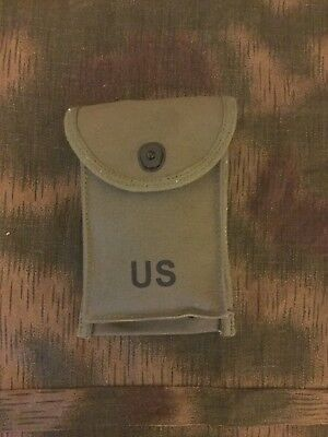 US ARMY M1/M2 .30 Cal Carbine 30 Round Magazine Pouch Reproduction Ammo PouchNEW