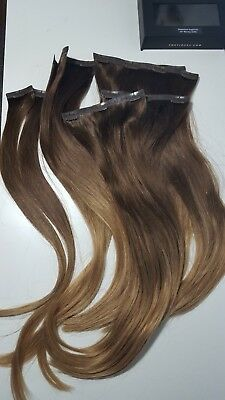 Foxy Locks 100 Remy Human Hair Colour 4 20 Clip In Extensions 50