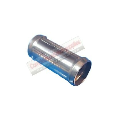 35 mm OD Stainless Steel Radiator Hose Connector / Pipe / Joiner 100mm Long