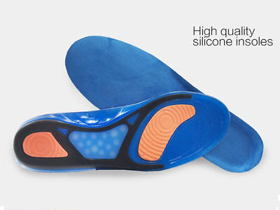 Feet Support Orthotic Gel Pain Relief Sport Shoe Insoles Running Working Boots