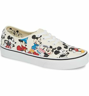 6e5c312a8c Vans Authentic (Disney) Mickey s Birthday White VN0A38EMUJ2 Men s Shoes NEW