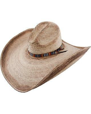 ... Mariposa Mexican Palm Straw Western Style Sun Hat.