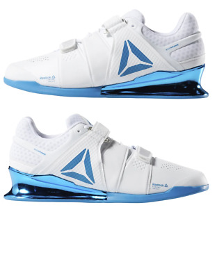 259dfdd5bae906 Reebok Legacy Lifter Weightlifting Shoes White Blue CN8397 Men s Multi Size  NEW