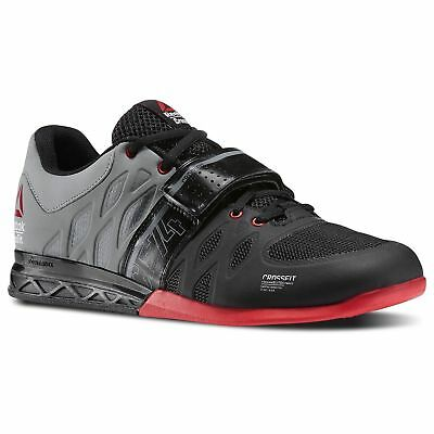 29b654ce4b24 Reebok Crossfit Lifter 2.0 Weightlifting Shoes Black Red Men s Shoes - Size  8