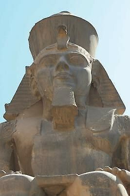 Face of the Egyptian Pharaoh Journal: 150 Page Lined Notebook/Dia by Image, Cool
