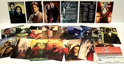 """THE X-FILES"" Season # 1 Topps Trading Card Set (60-pc, 1995, 20th Century Fox)"