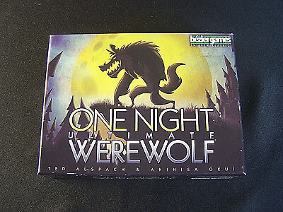 ONE NIGHT ULTIMATE Werewolf - Board Game - Bezier - Role Playing card game