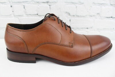 attractive fashion soft and light complete in specifications COLE HAAN BENTON Derby II Mens Cap Toe Dress Shoes Size 9.5W Wide Width