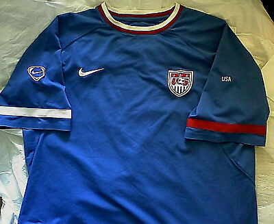 VINTAGE YOUTH NIKE Sphere dry Soccer Jersey L Blue -  21.49  205a0a15b