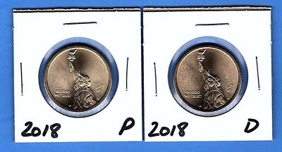 2018 P-D American Innovation Dollars $1 from US Mint Rolls ** New Series **