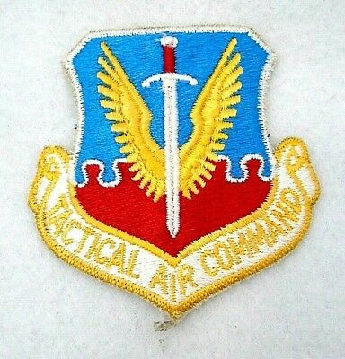 USAF Air Force Tactical Air Command TAC Insignia Badge Patch Subdued Obsolete
