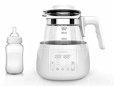 ÜneeQbaby Baby Formula Kettle with Built in Thermostat, for Bottle Feeding