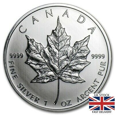 New 2011 Canadian Silver Maple Leaf 1oz .9999 Bullion Coin  by RC Mint