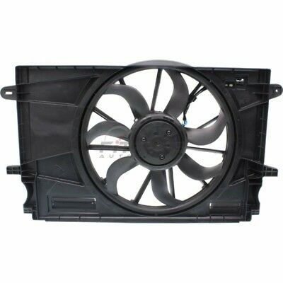 Dual Radiator and Condenser Fan Assembly Fits Chevrolet Cruze 624140 TYC