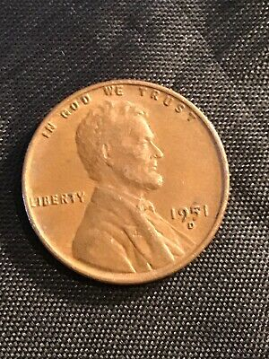 1951 P Lincoln Wheat Penny 15/% off 5+