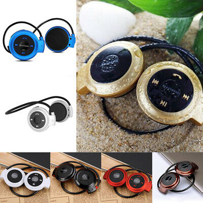 HiFi Sports Bluetooth Stereo Wireless Earphones In-Ear Headphones IPhone Android