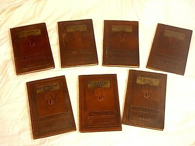 1925 - THE BOOK OF LIFE - COMPLETE SEVEN VOLUMES - Robert Collier, SIGNED 1st Ed