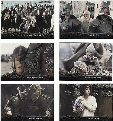 20 Different Lord Of The Rings Cards, 2004, The Return Of The King, Nice Lot 1.