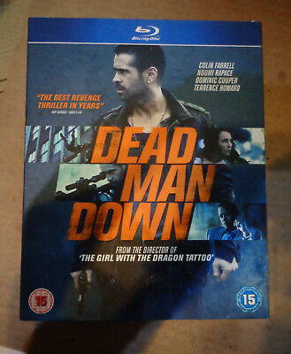 Dead Man Down (with slip case) (New)( Blu Ray) Free Postage
