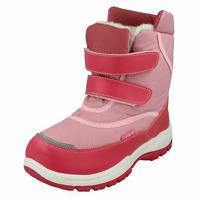 Reflex Double Strap Girls Snow Boots
