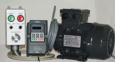 1hp IMO XKL INVERTER, MOTOR D80 & REMOTE CONTROL STATION PACKAGE inc cable