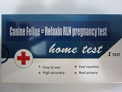 Canine Feline cat dog pregnancy test Relaxin test