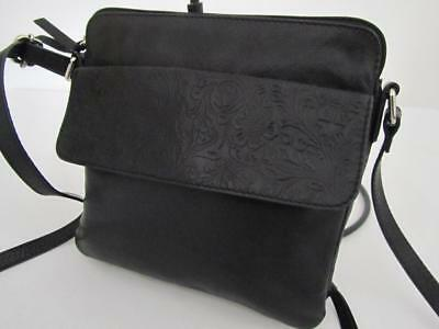 COLORADO RFID Protected Travel HANDBAG Genuine LEATHER As NEW Bag