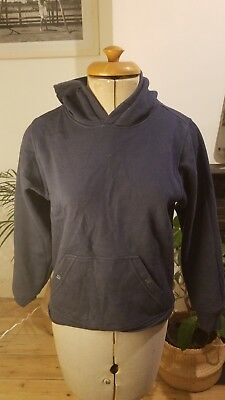 Canterbury Girls Small Blue Hoodie Age 10