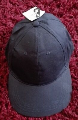 052f357d06e ADULTS  5 PANEL baseball cap in navy with adjuster Strap - £2.30 ...
