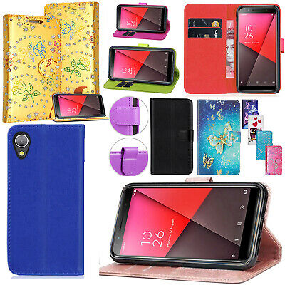 For Vodafone Smart X9 / E9 / N9 / N9 Lite - Leather Wallet Flip Phone Case Cover