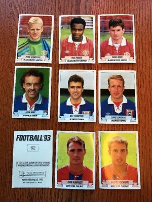Panini 93 England football stickers 1993 – Buy the ones you need! ALL LISTED!
