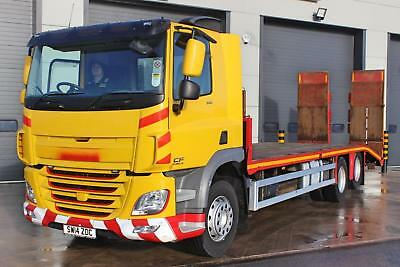 2014 DAF CF 370 6X2 Cheese Wedge Beaver Tail. Day Cab. 12 Speed Manual.