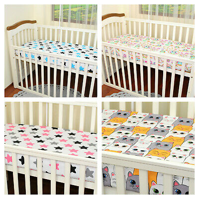 Fitted cotton sheet to cot 120x60 cm/100% cotton/fitted