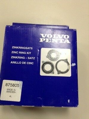 Volvo Penta 875805 Zinc Ring Kit