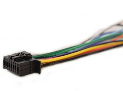 WIRE HARNESS FOR JVC KD-R780BT KDR780BT Free Fast Shipping ... on