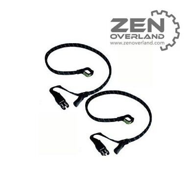 """Rok Straps Cruiser Strap It  24"""" Flat 600mm Twin Pack PAIR StrapIt Strap-It"""